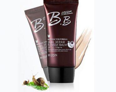 тональный крем Mizon bb cream snail repair blemish balm