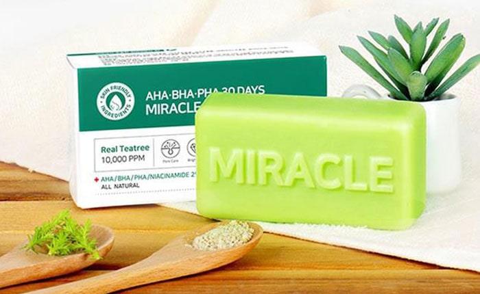 лучшее корейское мыло для лица Миракл
