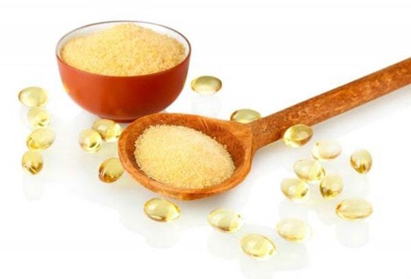 лифтинг-маска с глицерином желатином и медом