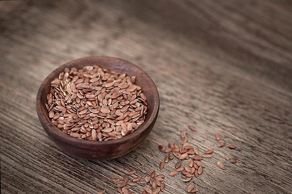 из льняного семени для подтяжки кожи