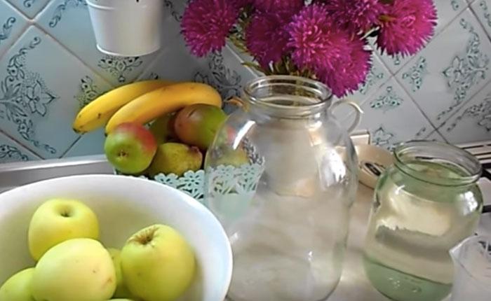 яблоки для приготовления уксуса