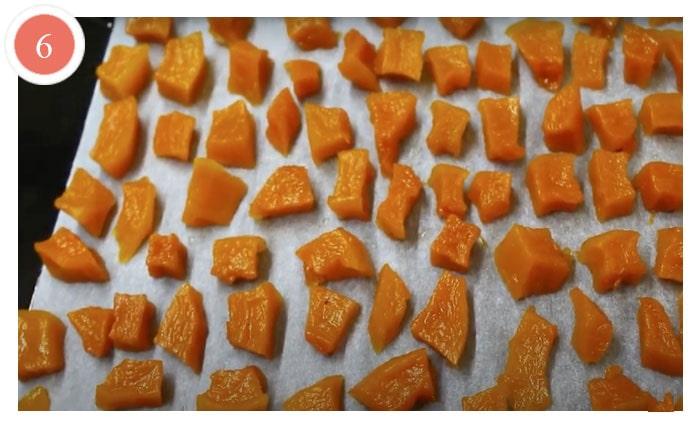 Цукаты из тыквы в духовке на зиму, простой рецепт с фото - ДЕТСКИЕ РЕЦЕПТЫ, БЛЮДА