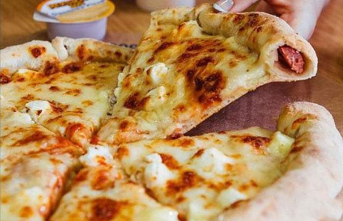 четыре сыра Доминос