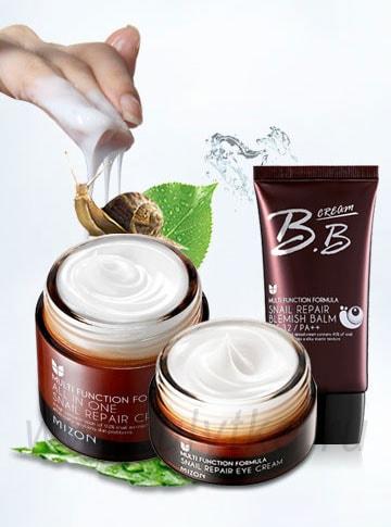 улиточные кремы для кожи лица