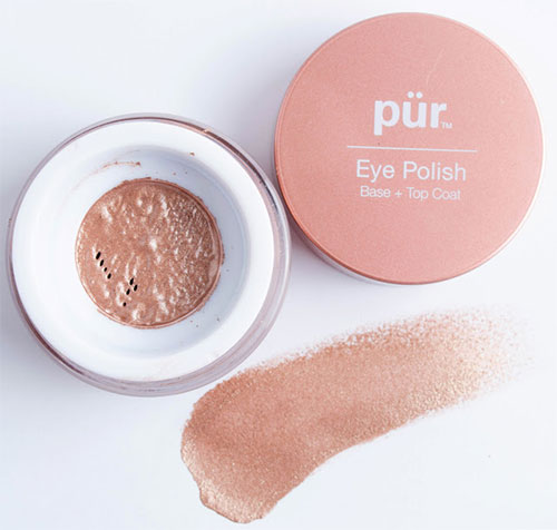 кремовые тени Pur Minerals Eye Polish в цвете Silk