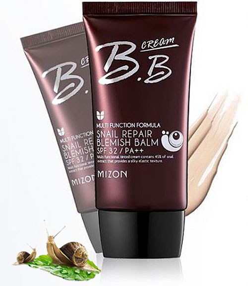 тональный крем Mizon bb cream snail repair blemish balm